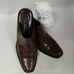 VIA SPIGA Italian leather booties